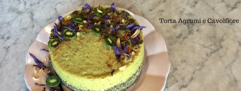 Torta agrumi e cavolfiore